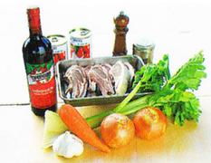 ダッチオーブンレシピ ラムのトマト煮 材料