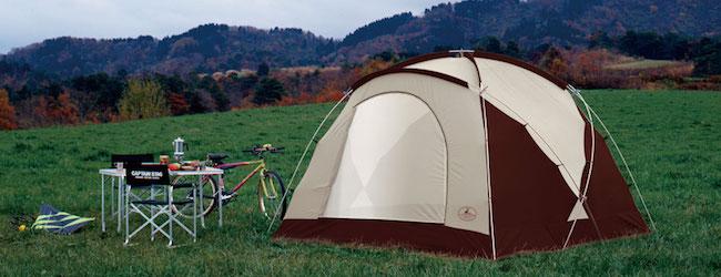 テントの張り方を覚えよう