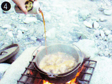 ダッチオーブンレシピ チキンの黒ビール煮 作り方4