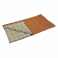 キャプテンスタッグ寝袋(シュラフ)M-3414 キングサイズ シュラフ(寝袋)100×200cm