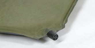 寝袋(シュラフ)の使い方 マットと合わせて使う インフレータブルマット