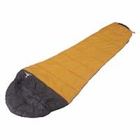 キャプテンスタッグ寝袋(シュラフ)M-3439 アクティブ シュラフ(寝袋)600(オレンジ)