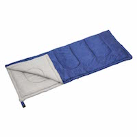 キャプテンスタッグ寝袋(シュラフ)M-3449 プレーリー 封筒型シュラフ(寝袋)600(ネイビー)