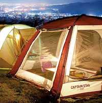 キャプテンスタッグ テントの種類と選び方