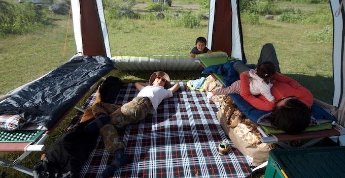 キャンピングベッド(コット)の寝心地
