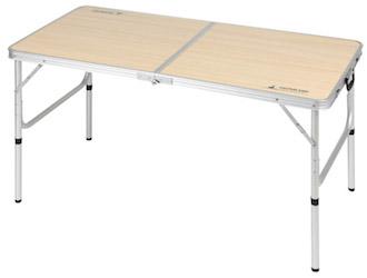 UC-516 ジャストサイズ ラウンジチェアで食事がしやすいテーブル 4~6人用(M)120×60cm セット