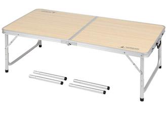 UC-516 ジャストサイズ ラウンジチェアで食事がしやすいテーブル 4~6人用(M)120×60cm High