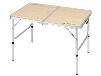 UC-517 ジャストサイズ ラウンジチェアで食事がしやすいテーブル 2~4人用(S)90×60cm セット