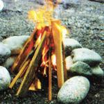 火を育てる