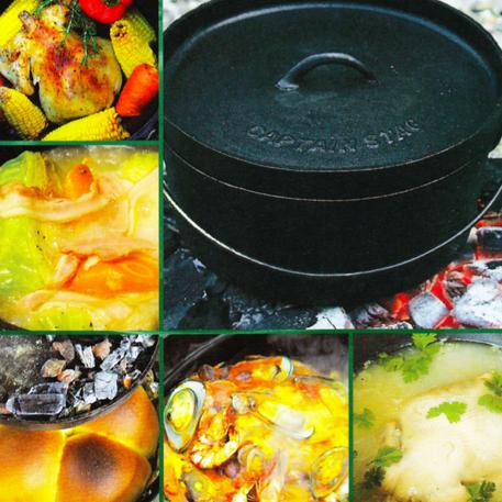 ダッチオーブン料理のレシピ集