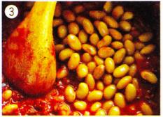 ダッチオーブンレシピ チリビーンズ 作り方3