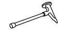 オルディナスクエアタープ M-3172 ハンマー