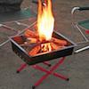 キャプテンスタッグおすすめ焚き火台タイプ(ロースタイル)のバーベキューコンロ・グリル