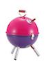 キャプテンスタッグ M-6372 マルチミニバーベキューコンロ(グリル)(ピンク×パープル)