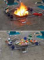 焚き火台タイプ利用イメージ