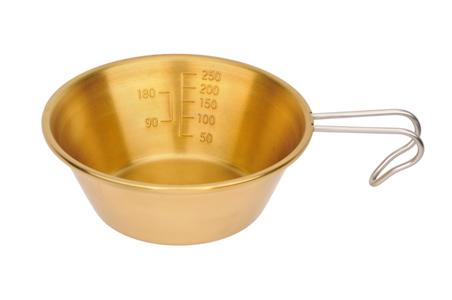 キャプテンスタッグ 真鍮製シェラスタッキングカップ320ml M-7333