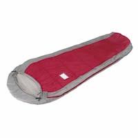 キャプテンスタッグ寝袋(シュラフ)M-3447 アクティブキッズマミー(寝袋)300(レッド)