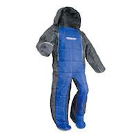 キャプテンスタッグ寝袋(シュラフ)UB-11 洗える人型シュラフ(寝袋)180(パープルxグレー)