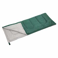 キャプテンスタッグ寝袋(シュラフ)M-3448 プレーリー 封筒型シュラフ(寝袋)600(グリーン)