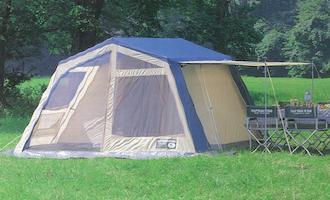 キャプテンスタッグ ロッジ型テント M-3141 デリエメッシュツールーム(生産中止)