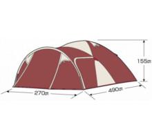 フレームサイズ UA-18 エクスギア ツールームドーム270 4~5人用