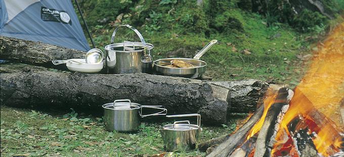 家族キャンプにおすすめのクッカーセット