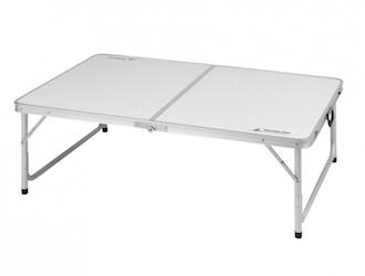 UC-509 ラフォーレ アルミツーウェイテーブル(アジャスター付)(LL)120×80cm Low