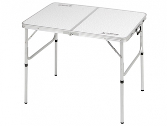 UC-511 ラフォーレアルミツーウェイテーブル(アジャスター付)(S)90×60cm High
