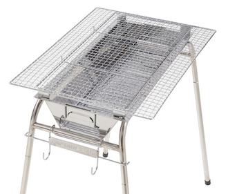 串焼き台に乗るサイズなら、色々なアミが使える