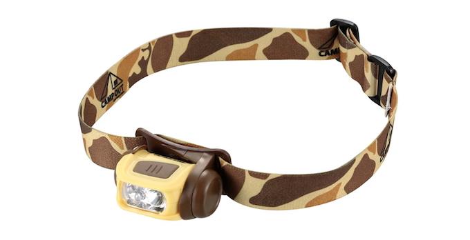 UK-4031 キャンプアウト LEDヘッドライト(カモフラ-ジュ)