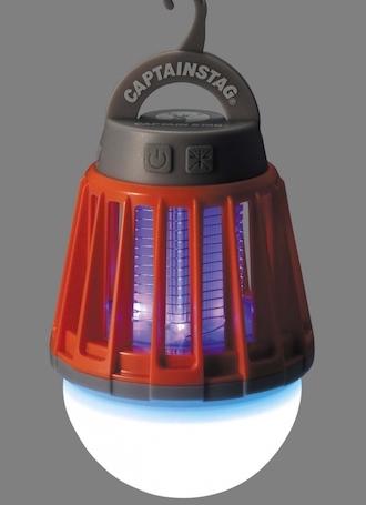 キャプテンスタッグおすすめのLEDランタン UK-4051 LEDバグランタン 3