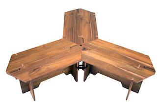 キャプテンスタッグ UP-1038 CSクラシックス ヘキサグリルテーブルセット(137)ハニカム形テーブル