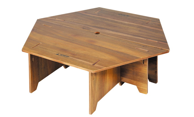 キャプテンスタッグ UP-1040 CSクラシックス ヘキサセンターテーブル(96)