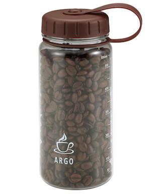 UW-4002 アルゴ コーヒービーンズボトル 200g/550ml