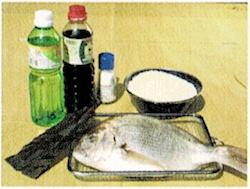 ダッチオーブンレシピ 鯛めし 材料