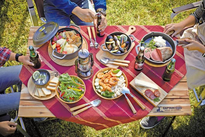 キャンプ・アウトドア用食器で食卓を飾ろう header