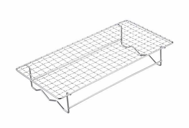 UG-2016 BBQ 串焼き&焼き過ぎ防止アミ 300×145mm 網面
