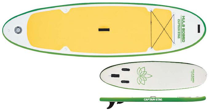 キャプテンスタッグおすすめのSUP US-1222 フラボード iSUP アロハ310 グリーン イメージa