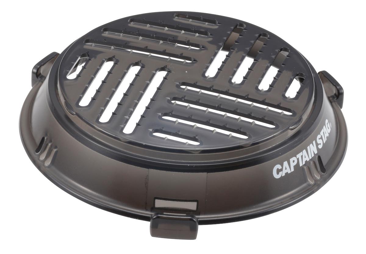 UH-3011 シェラカップ調理器(クリアブラック)調理器A うら 大根おろしとして使用可能