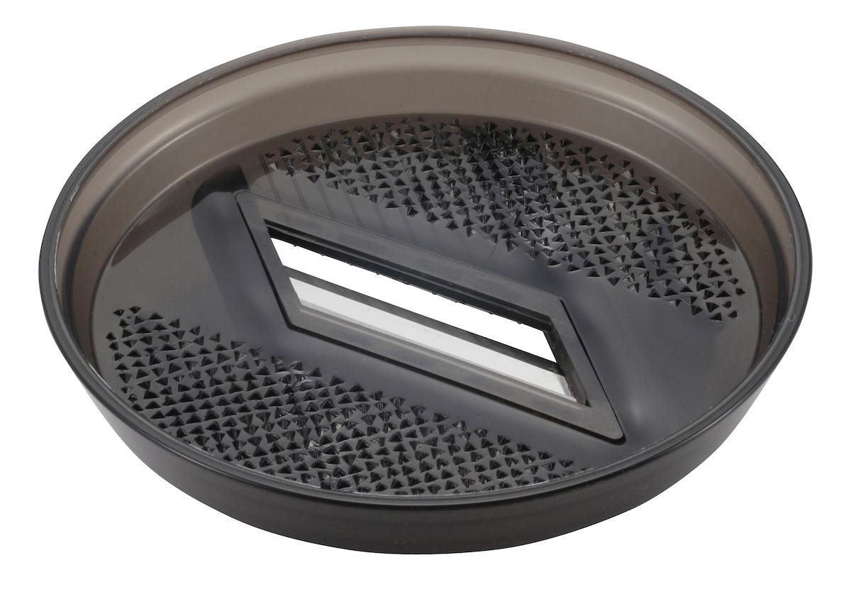 UH-3011 シェラカップ調理器(クリアブラック)調理器B おもて 薬味おろしとして使用可能