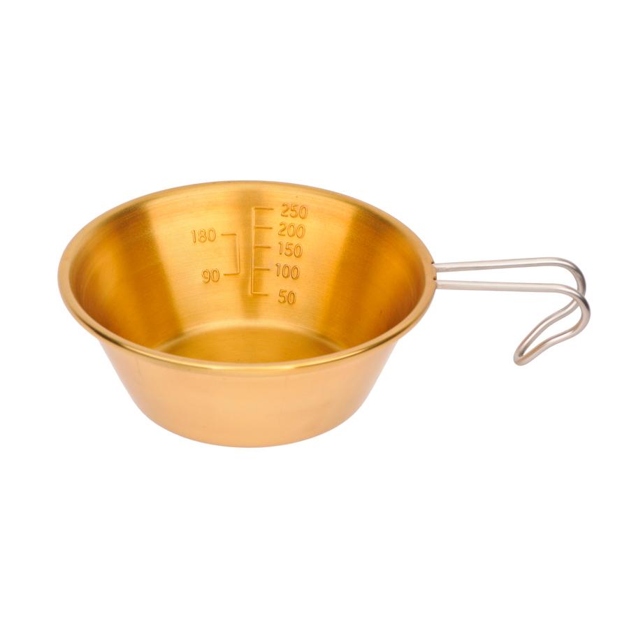 M-7333 真鍮製 シェラスタッキングカップ320ml