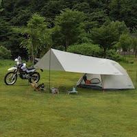 キャプテンスタッグ テントとタープ ソロキャンプにおすすめの組み合わせ