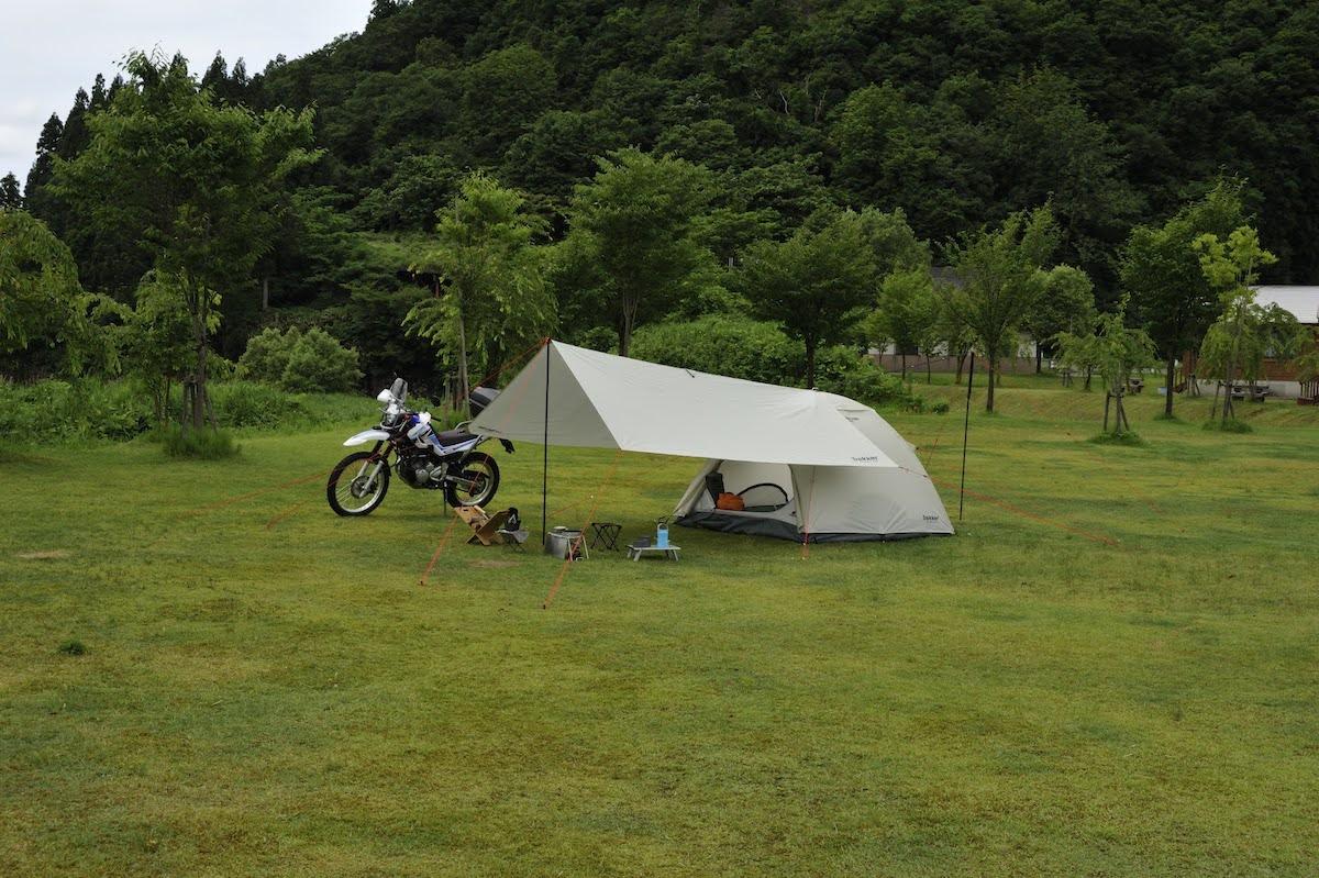 テントとタープ ソロキャンプにおすすめの組み合わせ ヘッダーイメージ