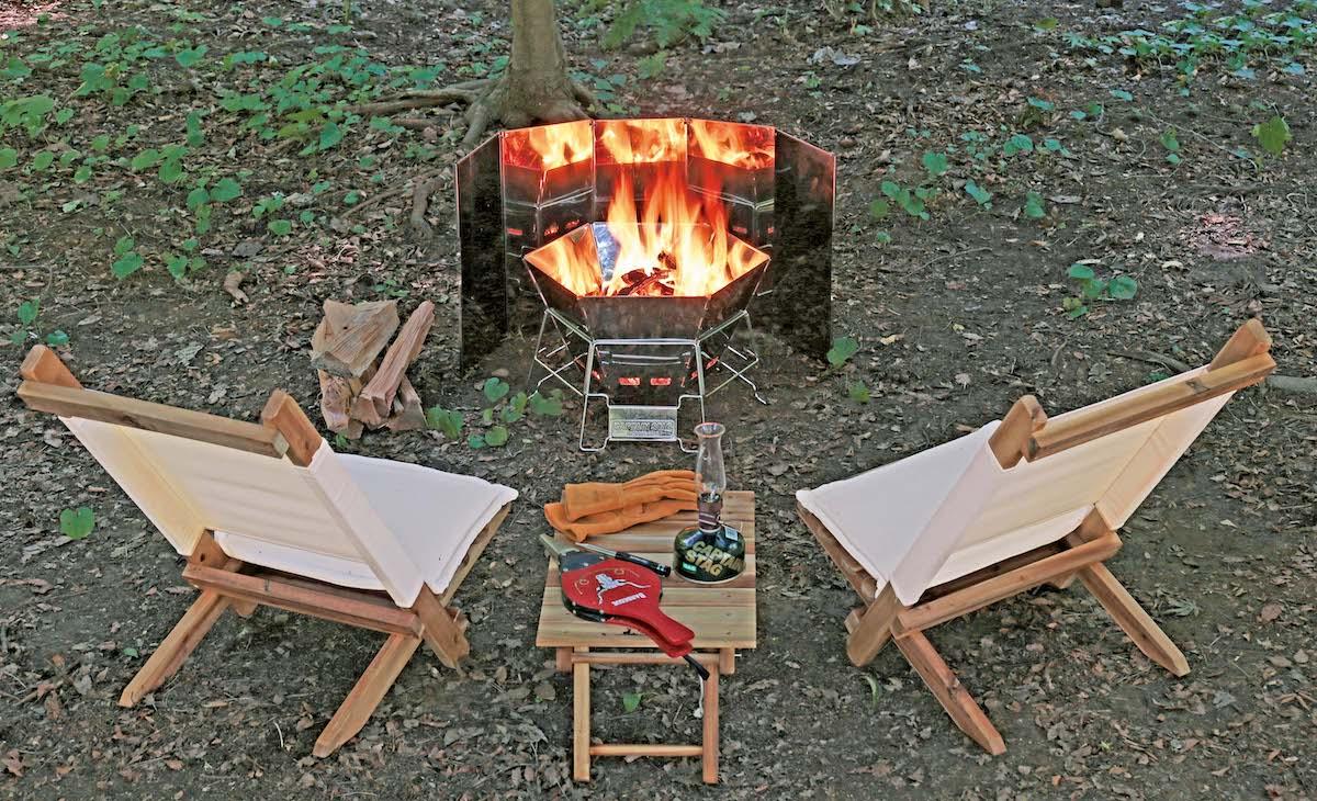 焚き火シーズン到来 秋冬キャンプで焚き火を手軽に楽しむアイテム header