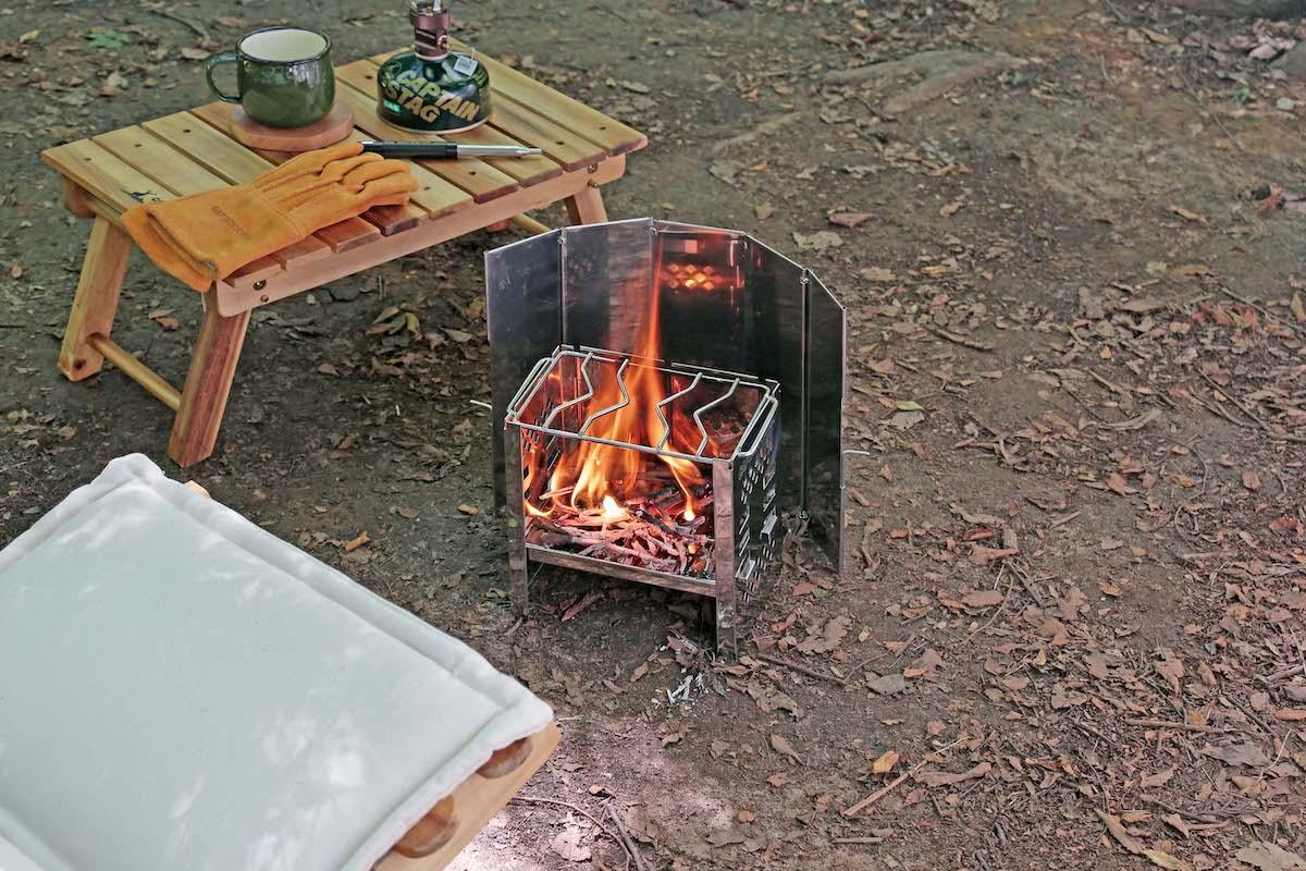 UG-3276 2way ウィンド スクリーン S 焚き火の風除け